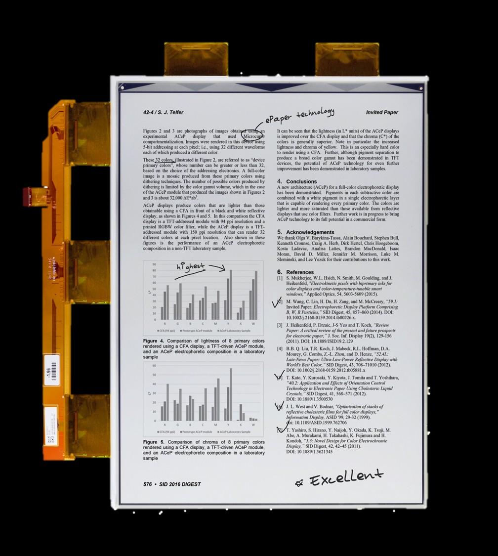 VB3300-NCB/ED133UT2-13.3寸-1600 x 1200-150ppi-玻璃版墨水屏规格