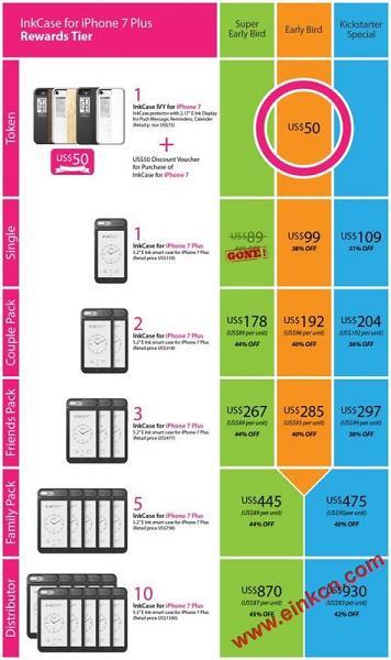 InkCase i7 Plus: iPhone 7 Plus的E Ink电子墨水第二屏 手机相关 第72张