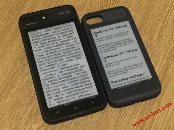InkCase i7 Plus: iPhone 7 Plus的E Ink电子墨水第二屏 手机相关 第19张