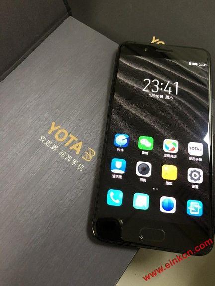公司买的Yota3简单开箱:包装高大上,手机颜值高 手机相关 第5张