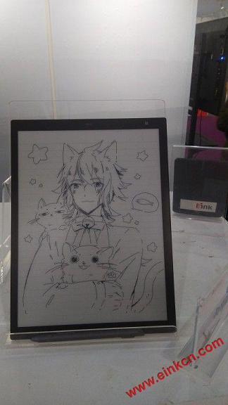 Sony 电子墨水平板第二代素描功能 画图展示 电子笔记 第1张