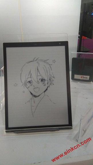Sony 电子墨水平板第二代素描功能 画图展示 电子笔记 第2张