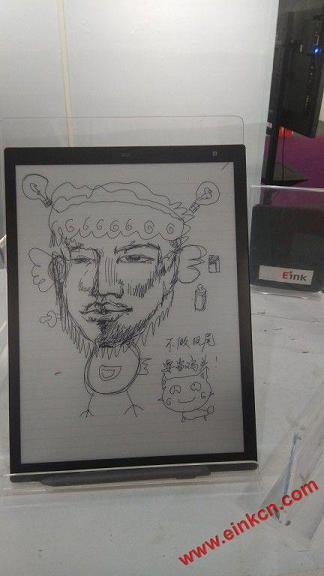 Sony 电子墨水平板第二代素描功能 画图展示 电子笔记 第5张