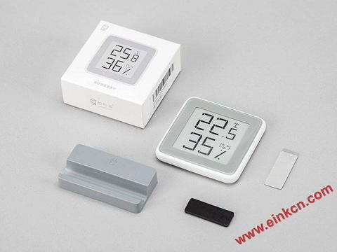 秒秒测E Ink屏幕温湿度计MHO-C201官网介绍,购买地址 业界新闻 第1张