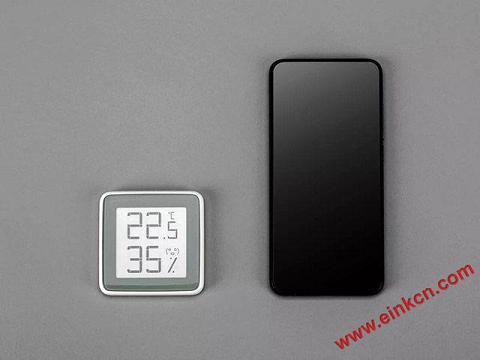 秒秒测E Ink屏幕温湿度计MHO-C201官网介绍,购买地址 业界新闻 第3张