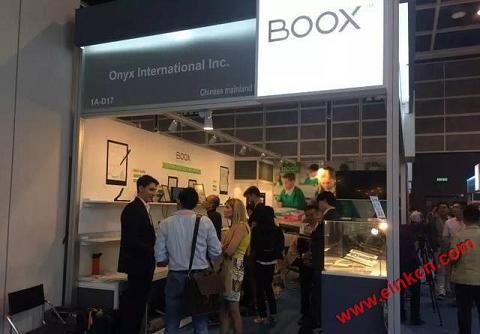 BOOX电纸书将参展香港电子产品展,文石多款旗舰级产品齐亮相 电子墨水阅读器 第2张