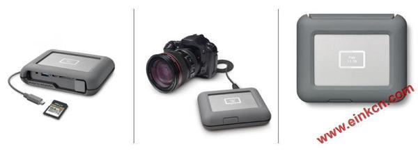 LaCie DJI Copilot移动硬盘 使用E Ink电子墨水屏幕 墨水屏其他产品 第8张