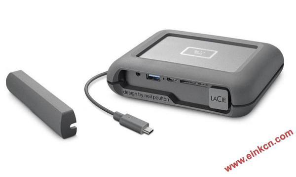 LaCie DJI Copilot移动硬盘 使用E Ink电子墨水屏幕 墨水屏其他产品 第7张