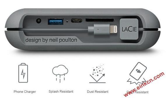 LaCie DJI Copilot移动硬盘 使用E Ink电子墨水屏幕 墨水屏其他产品 第10张