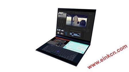 COMPUTEX2018|墨水屏与LCD成功合体 英特尔真的开始推双屏笔记本了 电子笔记 第5张