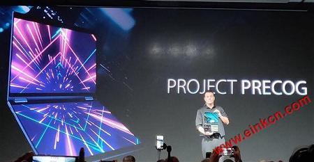 COMPUTEX2018|墨水屏与LCD成功合体 英特尔真的开始推双屏笔记本了 电子笔记 第6张
