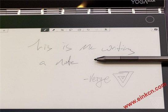E Ink电子墨水屏取代键盘:联想Yoga Book C930双屏笔记本(视频+图片) 其他产品 第5张