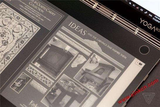 E Ink电子墨水屏取代键盘:联想Yoga Book C930双屏笔记本(视频+图片) 其他产品 第6张