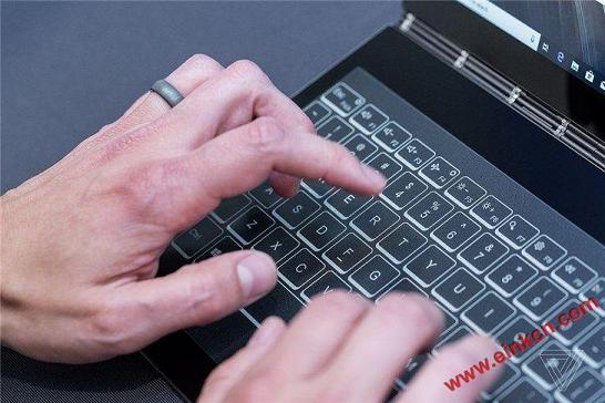 E Ink电子墨水屏取代键盘:联想Yoga Book C930双屏笔记本(视频+图片) 其他产品 第8张
