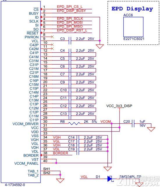 E Ink模块驱动原理与评测 开发板使用 转载自网络 产业共荣 第8张