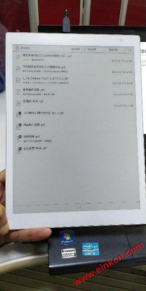 "Sony DPT-CP1白色10.3""电子纸平板照片 电子墨水笔记本 第3张"