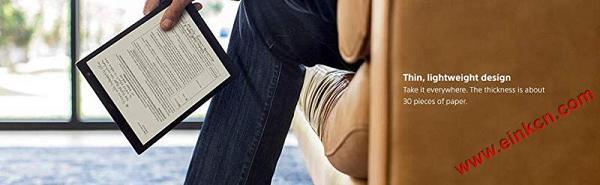 Sony 索尼 DPT-CP1/B 10英寸 Digital Paper 电子墨水平板电脑 亚马逊购买 电子墨水笔记本 第3张