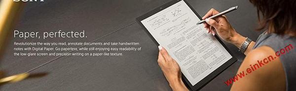 Sony 索尼 DPT-CP1/B 10英寸 Digital Paper 电子墨水平板电脑 亚马逊购买 电子墨水笔记本 第2张