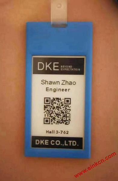 E Ink合作伙伴DKE东方科脉在德国Embedded world 2019 展出柔性基板电子纸产品 电子墨水屏新闻 第7张
