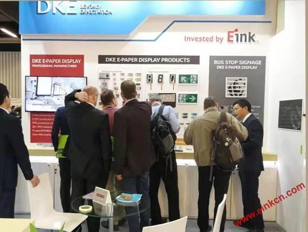 E Ink合作伙伴DKE东方科脉在德国Embedded world 2019 展出柔性基板电子纸产品 电子墨水屏新闻 第5张
