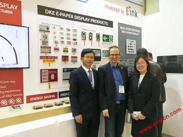 E Ink合作伙伴DKE东方科脉在德国Embedded world 2019 展出柔性基板电子纸产品 电子墨水屏新闻 第16张