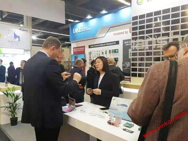 E Ink合作伙伴DKE东方科脉在德国Embedded world 2019 展出柔性基板电子纸产品 电子墨水屏新闻 第12张