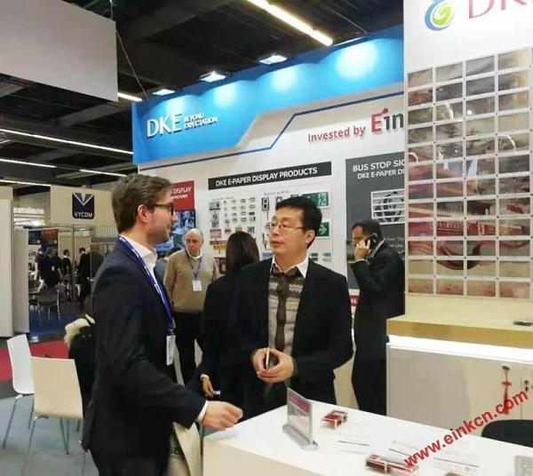 E Ink合作伙伴DKE东方科脉在德国Embedded world 2019 展出柔性基板电子纸产品 电子墨水屏新闻 第15张