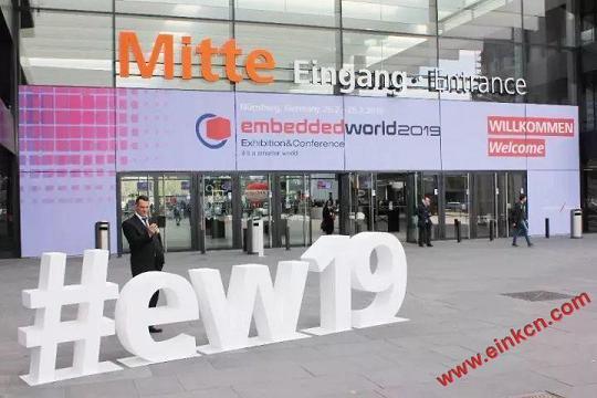 E Ink合作伙伴DKE东方科脉在德国Embedded world 2019 展出柔性基板电子纸产品 电子墨水屏新闻 第3张