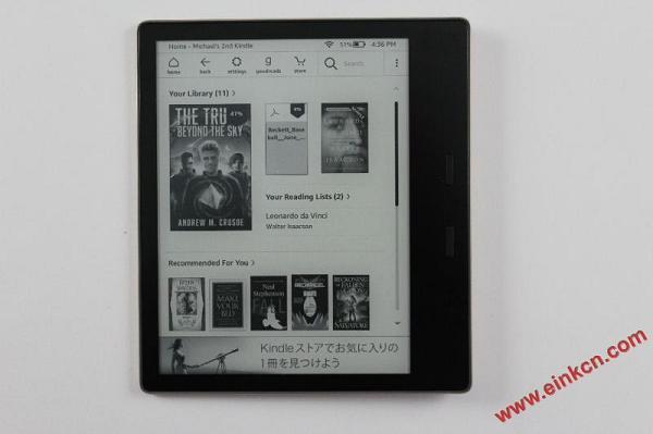 6.jpg Amazon Kindle Oasis 3 2019 e-Reader Review 电子阅读 第6张