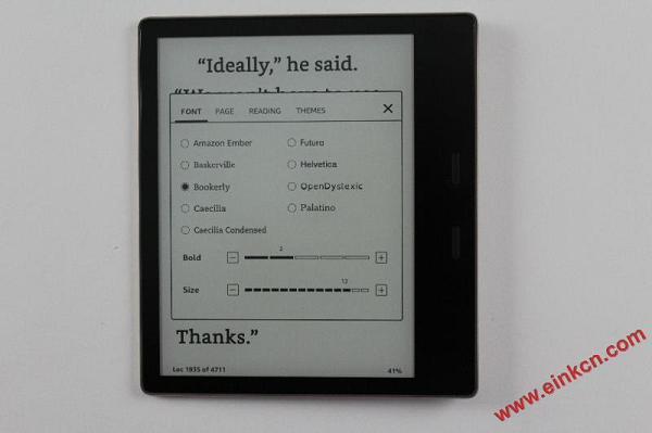 Amazon Kindle Oasis 3 2019 e-Reader Review 电子墨水阅读器 第8张