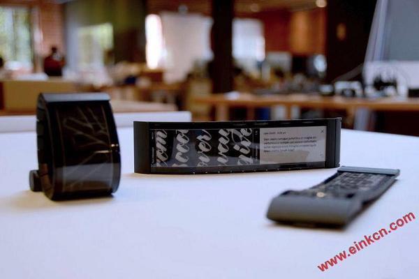 Wove 的智能手表 - 第一款真正的柔性屏幕消费产品诞生了 墨水屏手表手环 第1张