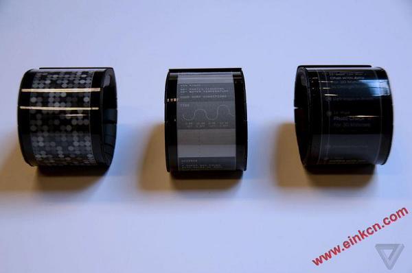 Wove 的智能手表 - 第一款真正的柔性屏幕消费产品诞生了 墨水屏手表手环 第2张