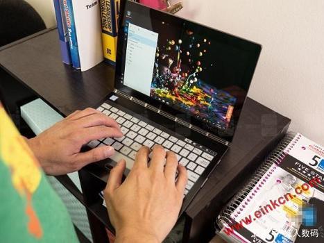 联想笔记本Yogabook2 C930评测,一款双屏的笔记本,而且有4K加持 墨水屏其他产品 第5张