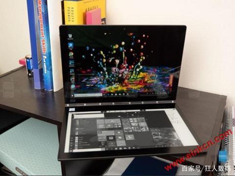 联想笔记本Yogabook2 C930评测,一款双屏的笔记本,而且有4K加持 墨水屏其他产品 第6张
