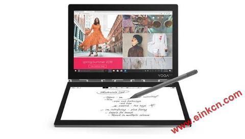 联想笔记本Yogabook2 C930评测,一款双屏的笔记本,而且有4K加持 墨水屏其他产品 第9张