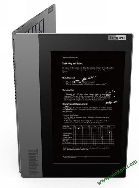Lenovo联想ThinkBook Plus双屏笔记本:10.8英寸墨水屏、傲腾加速 其他产品 第4张