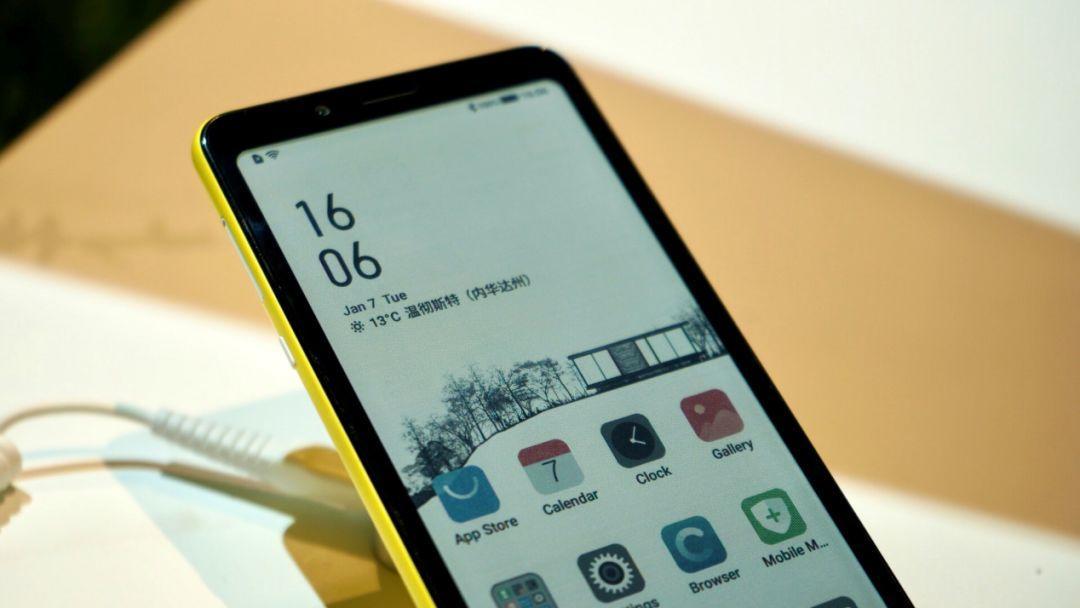CES2020海信首发彩色水墨屏阅读手机,开启多彩阅读新革命 墨水屏手机 第6张
