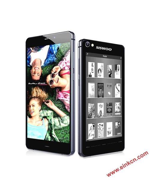 SISWOO R9 亚洲首款双屏电子书手机,eink海量书库,全高清,八核