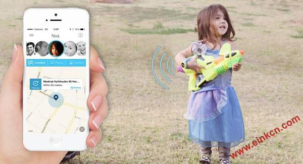 hereO: The first GPS watch designed for young kids 墨水屏手表手环 第6张