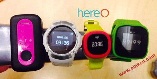 hereO: The first GPS watch designed for young kids 墨水屏手表手环 第15张