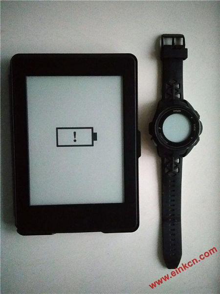 EPSON J-300 E Ink电子墨水屏运动手表测评:颜值与功能齐升 墨水屏手表手环 第4张
