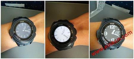 EPSON J-300 E Ink电子墨水屏运动手表测评:颜值与功能齐升 墨水屏手表手环 第20张