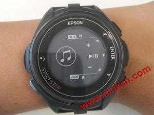 EPSON J-300 E Ink电子墨水屏运动手表测评:颜值与功能齐升 墨水屏手表手环 第15张