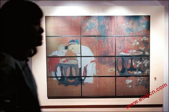 台北故宮國寶大展明登場 首創E Ink電子紙展演專區 显示看板 第4张