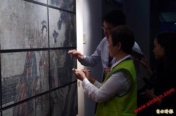 台北故宮國寶大展明登場 首創E Ink電子紙展演專區 显示看板 第8张