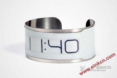 E-Ink技术 世界上最薄的电子腕表CST-...