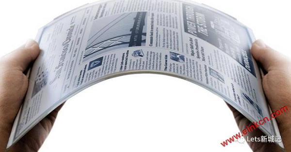 E Ink电子墨水屏,无限想象的低耗能,全视角,环保的显示器组件 业界新闻 第1张