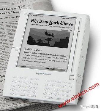 E Ink电子墨水屏,无限想象的低耗能,全视角,环保的显示器组件 业界新闻 第4张