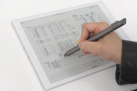 """索尼E-ink电纸平板10.3"""" Sony DPT-CP1将在2018年6月份发售 电子笔记 第5张"""