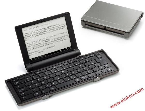 pomera DM30 数字打字机 使用6寸电子纸屏幕的打字机 图赏 墨水屏无纸办公 第1张